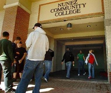 Nunez Community College reopens_2
